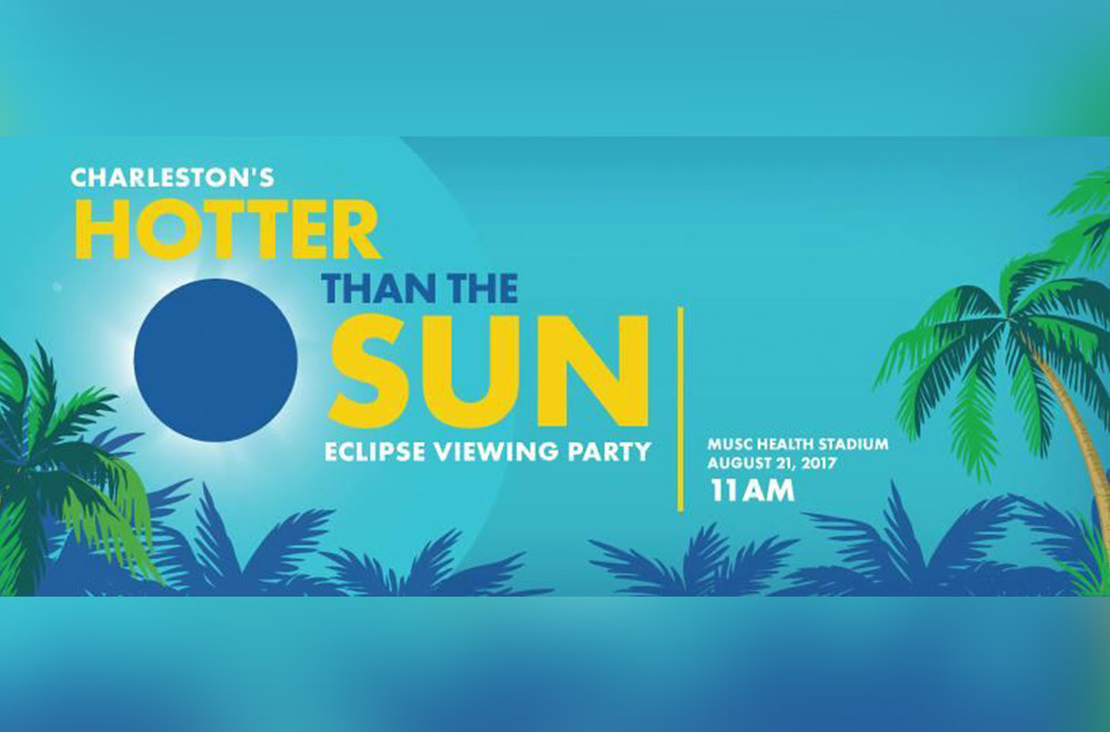 Charleston's Hotter Than The Sun Eclipse Viewing Party at MUSC Health Stadium