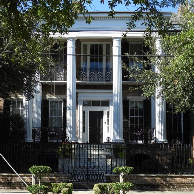 The Palms Apartments Charleston Sc: 20 Charlotte Street - Joseph Aiken House