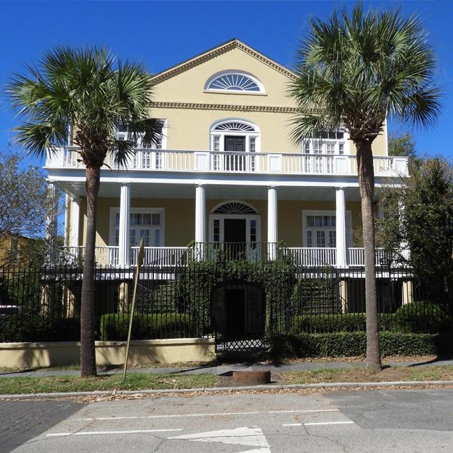 The Palms Apartments Charleston Sc: 28 Chapel Street - Elias Vanderhorst House