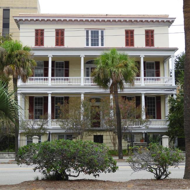Ashley River Apartments Charleston Sc: Jonathan Lucas House