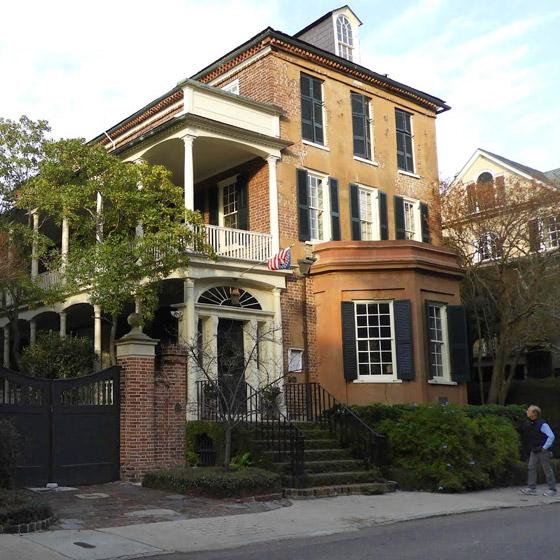 Palms Apt Charleston: 70 Tradd Street - Judge Robert Pringle House