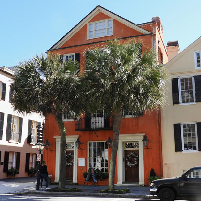 The Palms Apartments Charleston Sc: 95 Broad Street - Peter Bocquet House
