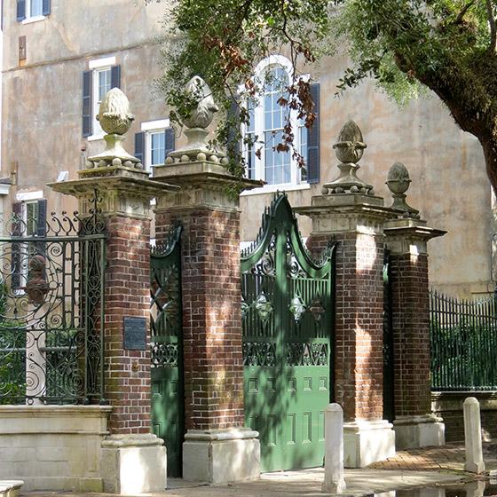 The Palms Apartments Charleston Sc: 14 Legare Street - The Pineapple Gates House
