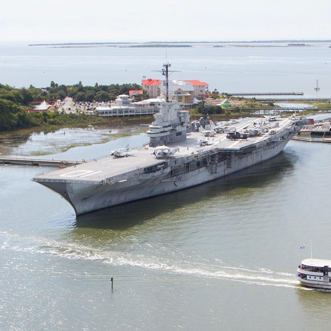 Monumental Battleships of Charleston | Charleston com
