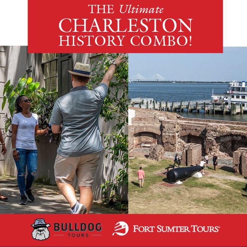 Fort Sumter/Charleston Strolls Combo Tour
