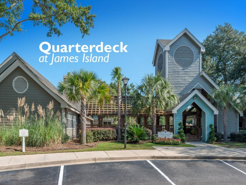Quarterdeck at James Island