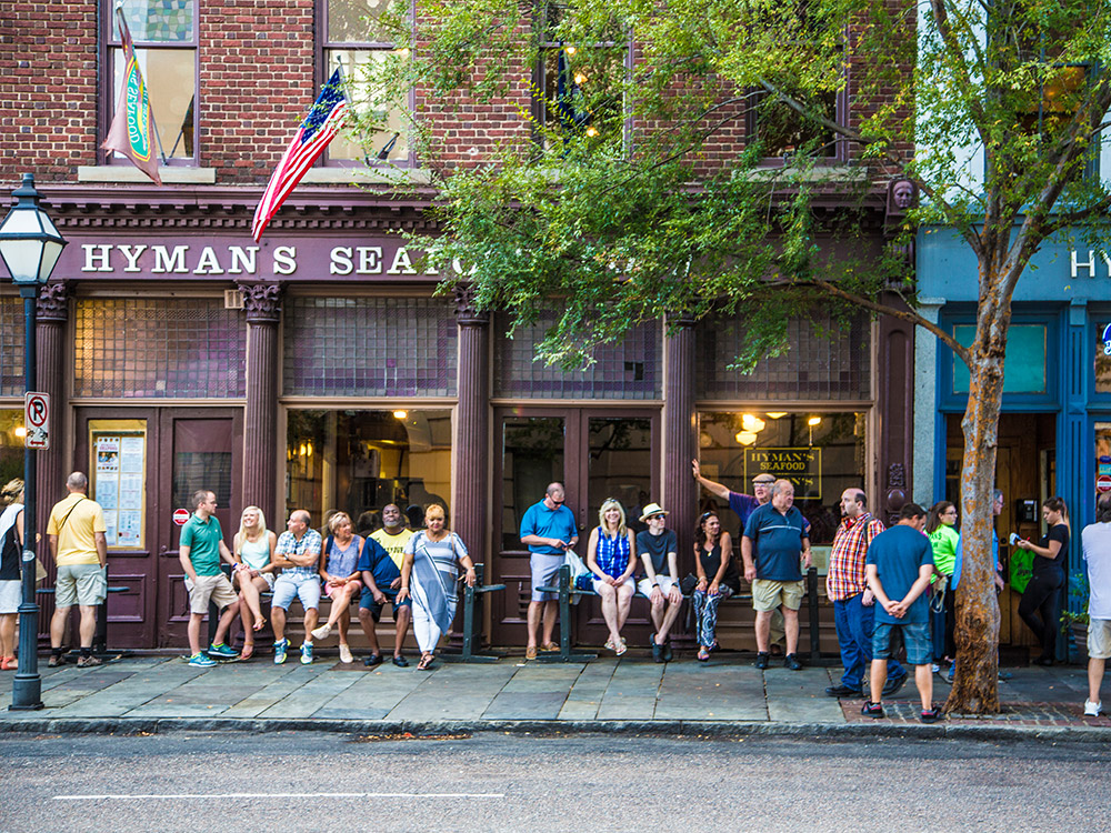 Hyman 39 s seafood the official digital guide to charleston for Fish restaurant charleston sc