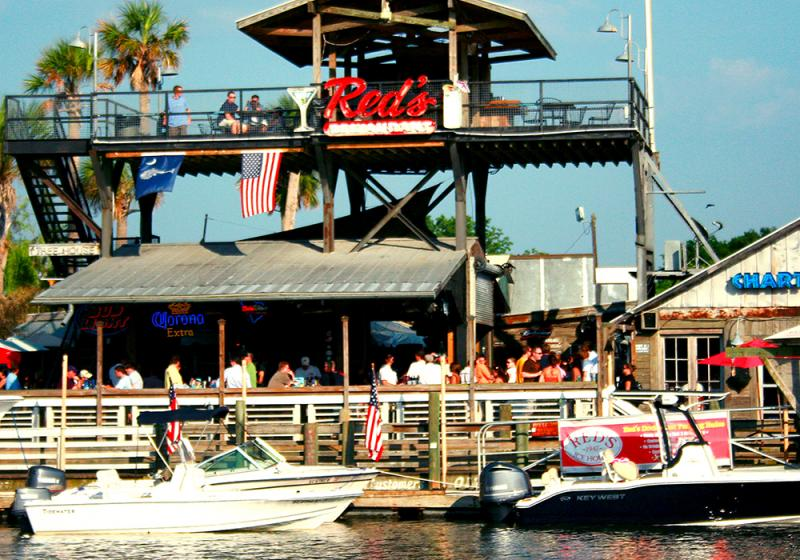 Red's Icehouse | Shem Creek