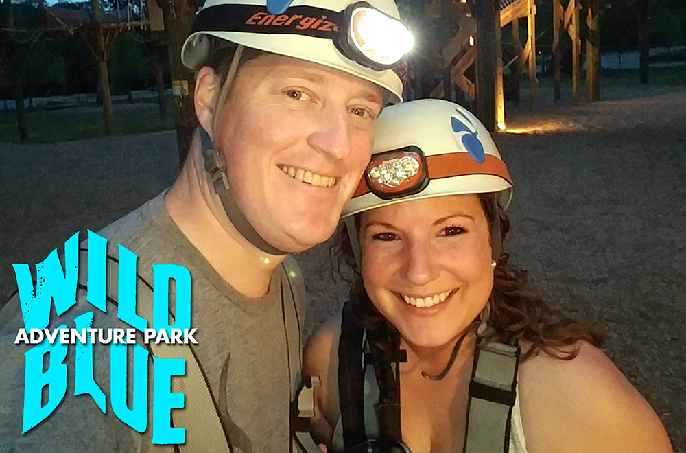 September Couples Night Climb at Wild Blue Ropes