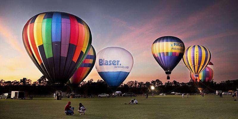 Charleston Hot Air Balloon Festival and Polo Match