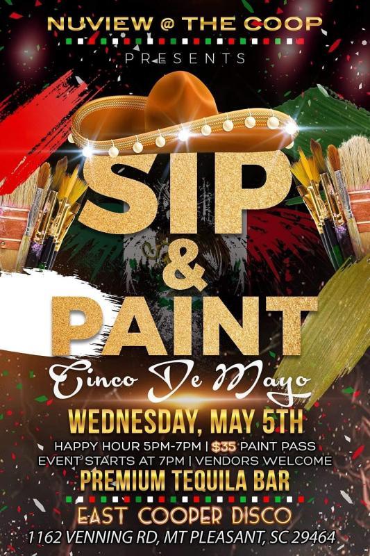Cinco de Mayo - Sip and Paint