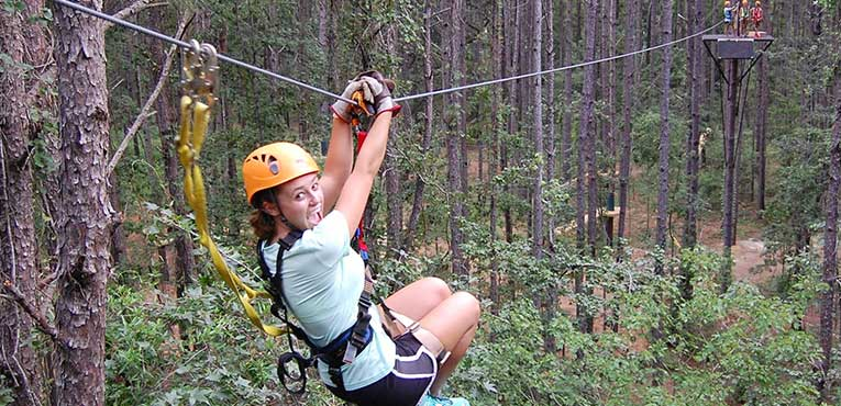 10% Off Zipline Canopy Tours