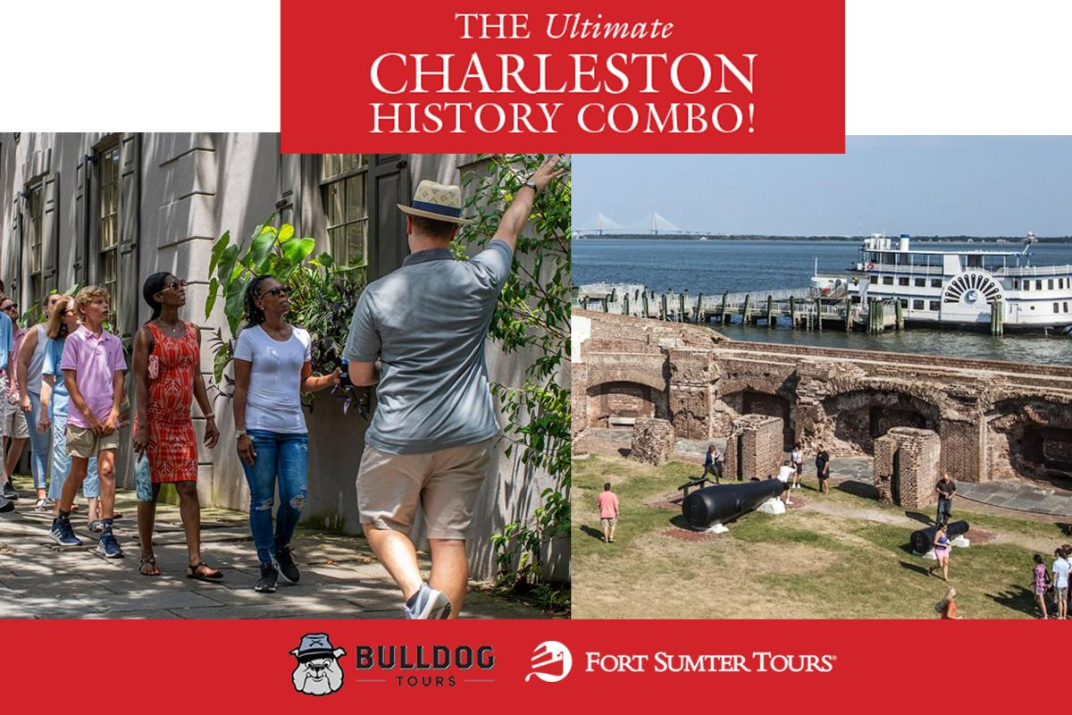 """CHARLESTON STROLLS WALK WITH HISTORY"" COMBO"