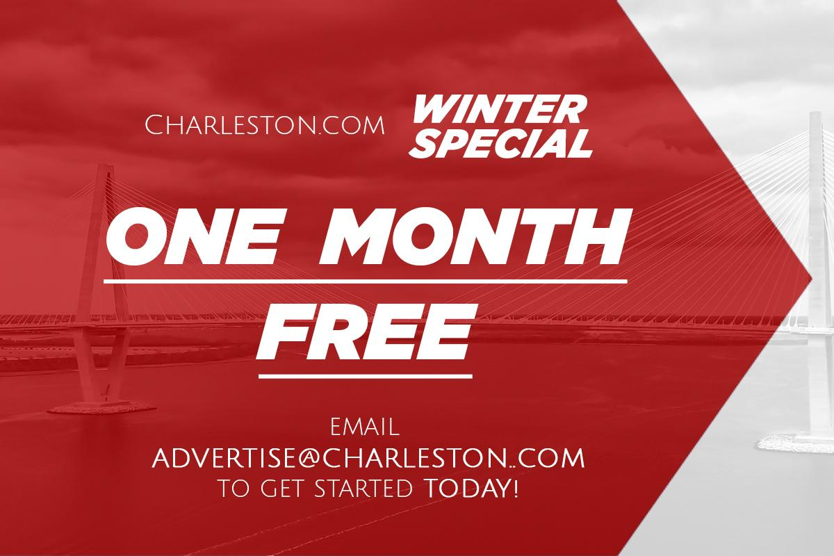 ONE MONTH FREE ON CHARLESTON.COM